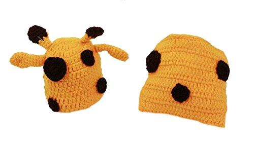 Liebenswürdig, Hand gehäkelte Baby Mädchen/Jungen bunt photograthy Prop Hat und Pants Verschiedene Größen zur erhältlich in 6verschiedenen Designs (Booties Neugeborenen Gehäkelte Baby)