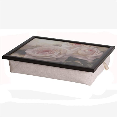 Laptray Original Andrews Knietablett Tablett romantic rose Rose Rosen