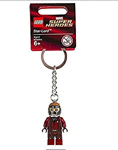Lego Guardians Of The Galaxy Keychain: Star-Lord - 2014 Release