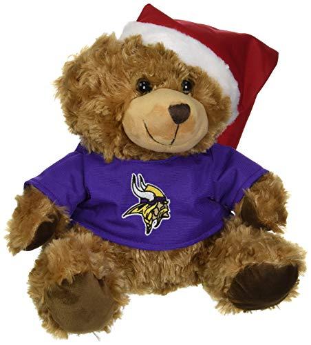 FOCO Minnesota Vikings Bär mit Nikolausmütze