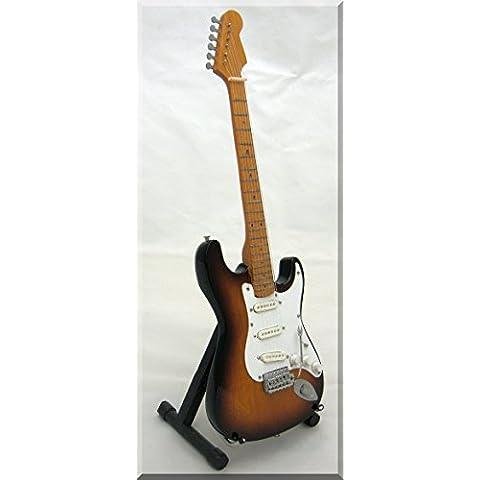 EDDIE HAZEL Miniatura Guitarra SUNBURST