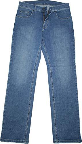 Pioneer Stretch Jeans 9733.06.1144 - Ron mittelblau/stone used, Weite/Länge:34W/30L