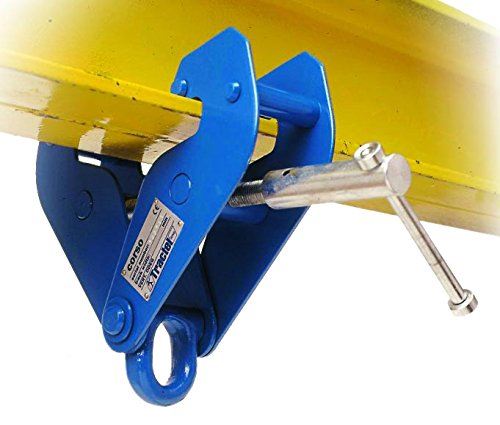 Tractel AMZ1023006 corso Beam/Girder clamp, 3.0 Ton (Blue), 1