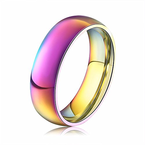 Arktis Jewels The Rainbow Regenbogen Einhorn Unicorn Edelstahl Ring