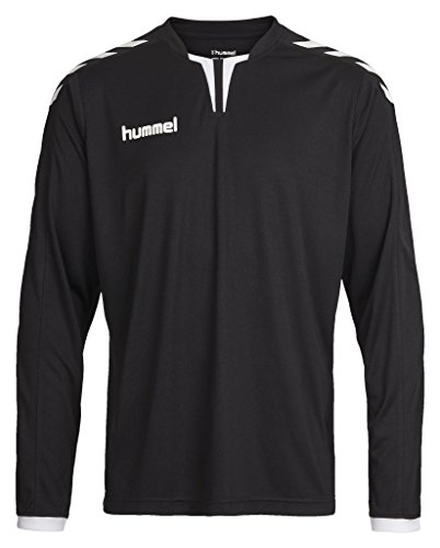 Hummel Herren Trikot Core Long Sleeve Poly Jersey, Black, S, 04-615-2001