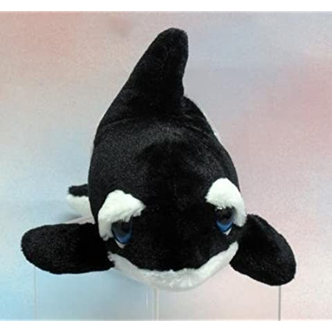 Wishpets 13 Orca Whale Large Blue Eye Plush Toy by Wishpets