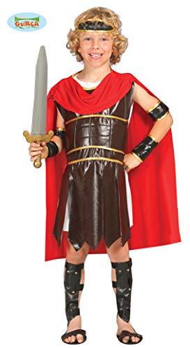 Römer Legionär - Kostüm für Kinder Gr. 110 - 146, Größe:128/134 (Legionärs Kostüm)