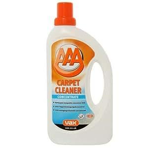 Vax 1 9 128507 00 shampoing moquette pour aspirateur avec for Aspirateur pour moquette efficace