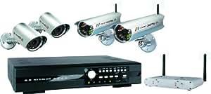 Elro DVR534W Kit enregistreur numérique 500 Go 2 Cameras filaires et 2 sans fil