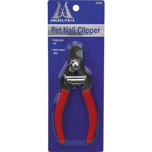 Millers Forge Steel Pet Nail Clipper 743C mit Sicherheit Stop Bar Small Medium Hunde