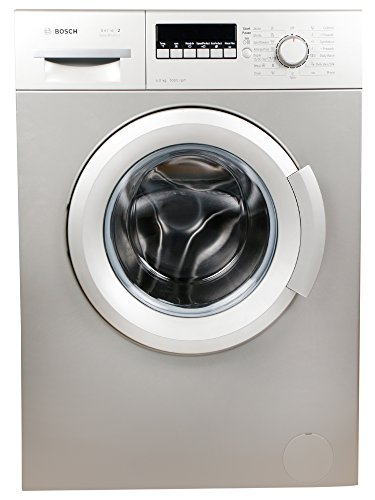 Bosch 6 kg Fully-Automatic Front Loading Washing Machine (WAB20267IN, Silver...