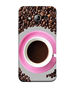 PrintVisa Designer Back Case Cover for Samsung On5 (2016) New Edition For 2017 :: Samsung Galaxy On 5 (2017) (Good Morning With Coffee Tea Drink Beans Liquid)