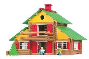 jeujura jouet en bois chalet suisse 240 pieces jeux et jouets. Black Bedroom Furniture Sets. Home Design Ideas