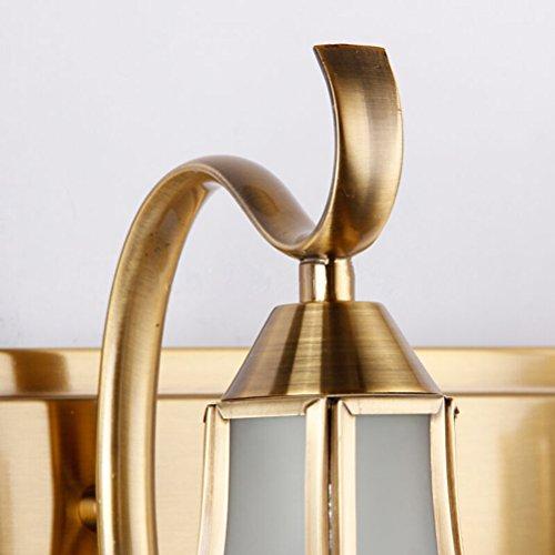NUOLUX 1-luce 19cm Retro stanza da bagno specchio luce LED Vintage ...