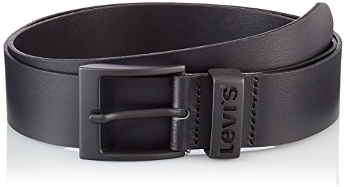 Levi's levis footwear and accessories ashland metal cintura, nero (regular black 59), 110 uomo