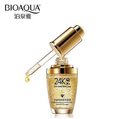 Tyro BIOAQUA Brand 24K Gold Essence Face Cream Skin Care Day Cream Pure Anti Wrinkle Collagen Whitening Moisturizing Acid Liquid