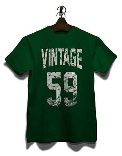 Vintage 1959 T-Shirt Dunkel Grün