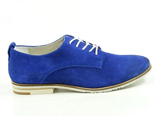 SPM 61306422 Bermuda Chaussures à lacets femme Blau