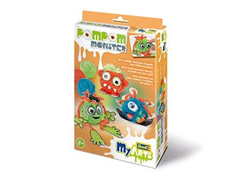 Revell MyArts 30601 - Kinder-Bastelset - Pom Pom Monster
