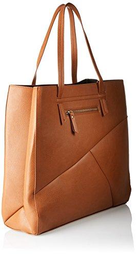 PIECES - Pcneda Shopper, Borse a spalla Donna Marrone (Cognac)