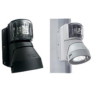 aqua signal, Camping Zubehör Serie 43 Topp-Laterne mit Deckstrahler 4 W/5W LED, schwarz, 48236