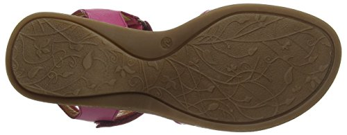 FRODDO Froddo Girls Sandal Fuxia G3150090, Sandales  Bout ouvert fille Red (Fuxia)