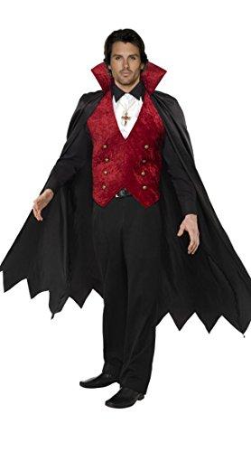 Gorgeous Herren Dracula -Rollenspiel Gerät cosplay Anzüge Herrenanzüge klassische (Für Klassische Kostüme Filme Halloween)
