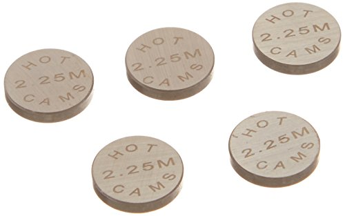 Pastillas de reglaje valvulas Hot Cams (Set 5pcs) Ø13 x 2,25 mm
