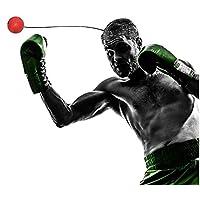 Sport im Freien Ball Boxen MMA Kampf Training Reflex Geschwindigkeit Elastic String Punch Fitnessgeräte Training und Fitness Kampf Sport Geschenk Geeignet für Erwachsene oder Kinder
