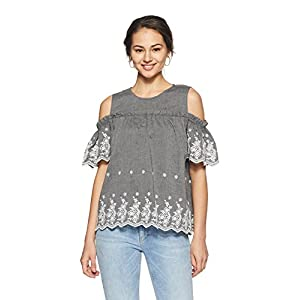Amazon Brand – Symbol Women's Plain Loose Fit Top