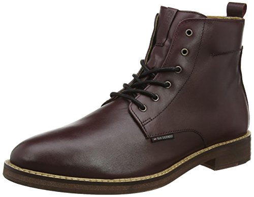 ben-sherman-aine-bottes-classiques-homme-rouge-red-bordo-006-43