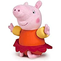 Peppa Pig - Peppa con Manguitos 43cm - Calidad super soft - Peluche - Ouast
