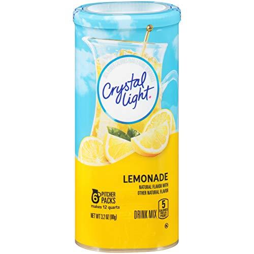 Crystal Light Lemonade Drink Mix, 3.2 oz, Makes 12 qt (Mix Crystal Light)