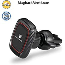 Tech Sense Lab Magback Vent Luxe One Touch 360 Degree Rotating Magnetic Car Mobile Phone Holder for All Smartphones