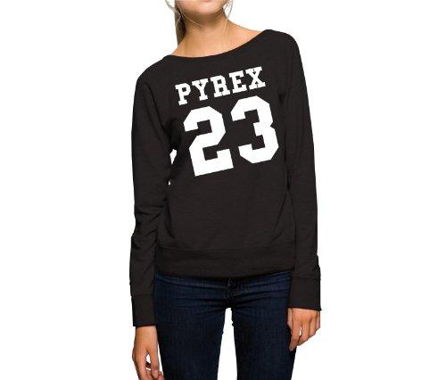 Pyrex 23 Felpa Girls Nero-M