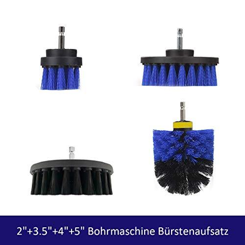 Majalis 4pcs Bohrmaschine Bürstenaufsatz-2