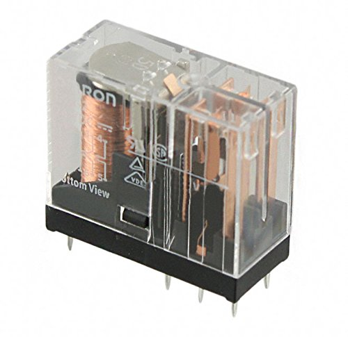 G2R-2-S 24DC (S) | 125362 | OMRON RELAY, PLUG-IN, 8-PIN, DPDT, 5A, LABEL FACIL -