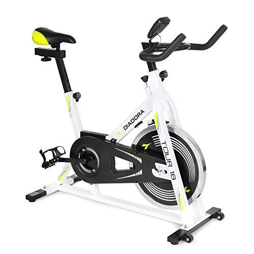 Diadora DB-TOUR18 Tour 18 Bicicletta Indoor, Nero, 118 x 49 x 107 cm