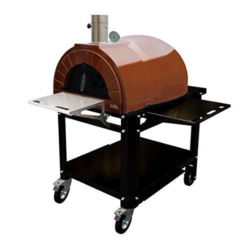 AMPHORA Ready mit Rädern ( AMPHORA Plus + Ständer mit Rädern) Pizzaofen