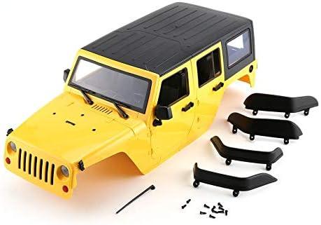 Mogustore Carcasa de plástico Duro Car Kit de bricolaje Para 313 mm Distancia Entre ejes 1/10 Wrangler Jeep Axial SCX10 RC Car Crawler Modelo de vehículo | Sale Online