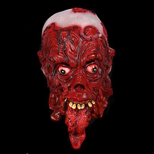 Verschiedene Horror Kostüm - Premium Halloween Maske Latex für Herren| Zombie Monster | Horror-Maske für Halloween-Kostüm | Verschiedene Charaktere aus Horror- & Fantasy-Film | Karneval Fasching Verkleidung