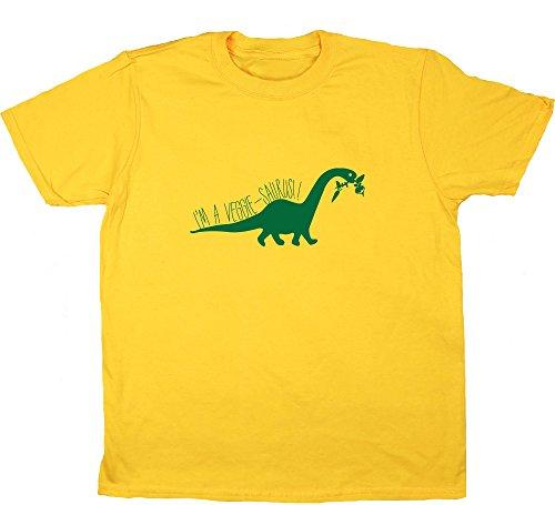 HippoWarehouse Mädchen T-Shirt Gr. 12-13 Jahre, Gelb - Gänseblümchen (Tree Gelben Hugger T-shirt)
