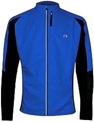 Newline Cross Winter Laufjacke Blau Größe M