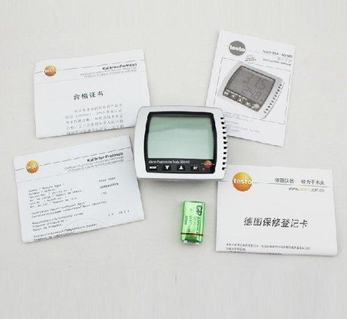 testo 608-h2Luftfeuchtigkeit DEWPOINT Temp Hygrometer Taupunkt Meter Teste LED Alarm per Testo