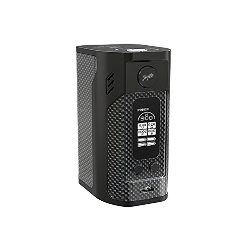 Wismec Reuleaux RX300 Quad-Akku Box Mod, Farbe: Carbon Fiber (schwarz)