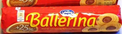 Ballerinas Schokolade (Göteborgs Ballerina Nougat (origina schwedisch), 190g)