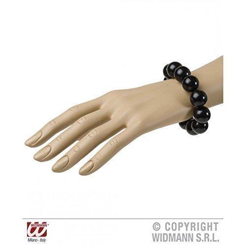 Lively Moments Geniales Perlen - Armband in schwarz im Stil der 50er bis 70er Jahre