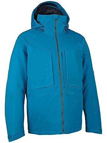 Burton AK 2L LZ DWN M Men's Jacket blue heisenberg Size:L