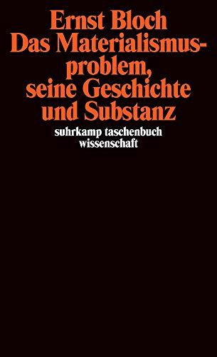 Gesamtausgabe in 16 Bänden. stw-Werkausgabe. Mit einem Ergänzungsband: Band 7: Das Materialismusproblem, seine Geschichte und Substanz (suhrkamp taschenbuch wissenschaft)