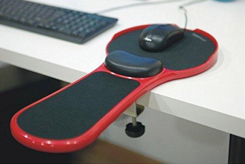 Regolabile Computer resto di polso del bracciolo Scrivania e sedia doppio scopo attaccabile casa e ufficio Computer Support Arm mouse ergonomico